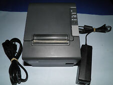 Epson TM-T88IV  M129H Thermal POS Receipt Printer Ethernet w Power Supply