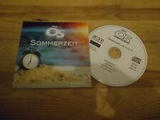 CD Volksmusik Ö5 - Sommerzeit (1 Song) Promo MIKE REC / L2 AGENTUR cb