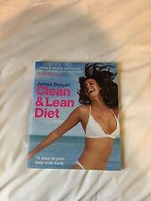 Clean And Lean Book Diet Healthy Living James Duigan Cookbook Recipes Bestseller