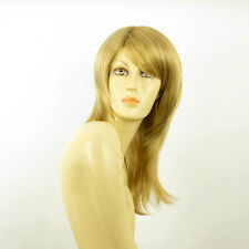 mid length wig for women blond golden ref : coline 24b PERUK