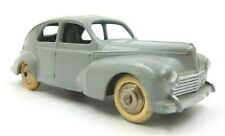 VINTAGE MECCANO DINKY TOYS GREY PEUGEOT 203 #24R WHITE TIRES ~ MADE IN FRANCE