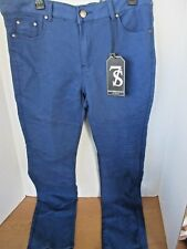 7 SEVEN SOULS SELECT~Blue SKINNY FIT FLEX TWILL JEANS PANTS~Men's 34 x 30~NWT