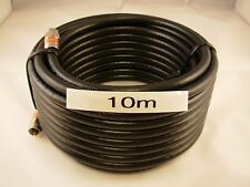 RG6 Quad Shield 10m F-Type Coax Cable Digital TV Antenna Foxtel Optus NBN