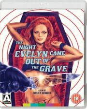 The Night Evelyn Came Out Of The Grave Blu Ray Arrow Video Release New & Sealed