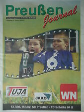 Programm 2006/07 SC Preußen Münster - FC Schalke 04 II