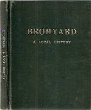 Bromyard a Local History by Joseph G Hillaby& Edna Pearson 1st edt 1970  hdbk
