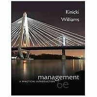 Management: A Practical Introduction by Kinicki and Williams, 6th Edition