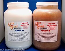 EPOXY RESIN GLUE PERMANENT STRUCTURAL NON SAGGING MARINE BOAT BUILDING 2 GAL!