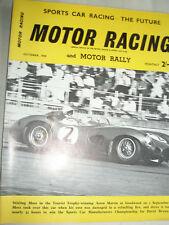 Motor Racing & Motor Rallying Oct 1959 Vol 6 No 10 Portuguese GP, Aston Martin