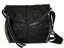 "** THE SAK ""Silverlake"" Black Leather Cross Body Bag Msrp $189.00"