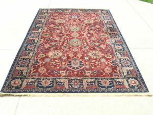 Excellent Karastan Samovar 900-902 E s f a h a n 6x9 100% Wool Rug Soak Washed