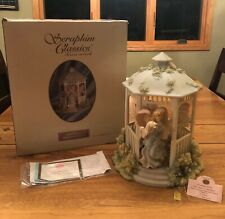 Seraphim Classics Collectors Club - Friendship Garden - Rare Members Only/Signed