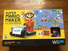 BRAND NEW Nintendo Wii U 32gb Super Mario Maker Edition Bundle System Console