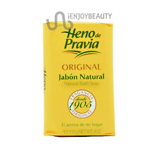 Heno de Pravia Original Jabon Natural  Bath Soap 4oz w/Free Nail File