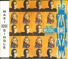 C&C MUSIC FACTORY things that make you go Hmmm 3TRX REMIXES CD Single USA SELLER