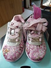 NEW - LELLI KELLY PINK PRIMULA 2 CALAFORNIA TRAINERS - UK 9 / EURO 26 & GIFT
