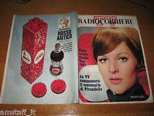 TV RADIOCORRIERE 1967/8=HEIDI FISCHER=ANTONELLO FALQUI=CARMEN VILLANI=BRUNI S.=