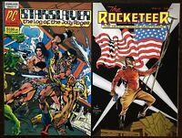 Starslayer 2 1982 1st Rocketeer Appearance AND Rocketeer #1 Movie Adapt VF/NM+