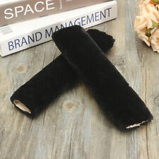 Car Auto Seat Belt Cover Pad Harness Shoulder Pads Strap Faux Wool Fur Fluffy
