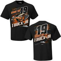 Martin Truex Jr #19 Bass Pro Shops Checkered Flag Camber Nascar Tee Adult XXL