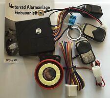 MOTO Sistema di allarme con 2 TRASMETTITORE PER TRIUMPH