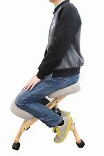 Grey kneeling chair