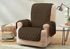 Miracle Mink Recliner Furniture Cover | Waterproof | Pockets | Tucking Tools