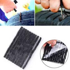 50 X Tubeless Tire Tyre Puncture Repair Strip Kit Plug Car Bike Motorcycle 100mm
