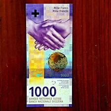 SWITZERLAND SWISS 1000 francs gem UNC.