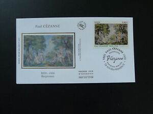 paintings Paul Cezanne naked woman FDC 100462