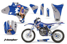 Dirt Bike Graphics Kit Decal Wrap For Yamaha WR250 WR450F 2005-2006 TBOMBER BLUE