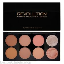 Makeup Revolution Blush Bronze Highlight  Contour Powder Palette Hot Spice