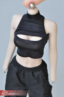 1//6 Female Tights Crop Top Suit sloping shoulder Fit 12inches Phicen TBL Figure
