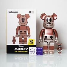 MEDICOM UNDEFEATED MICKEY MOUSE EXHIBIT NYC BEARBRICK 400% 100% UNDFTD Fragment