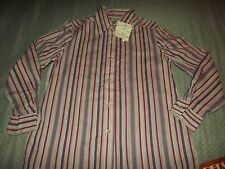 LADIES PERSONAL by LESLIE FAY L/S STRIPED CASUAL SHIRT sz 16 NEW