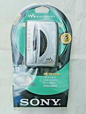 Sony AM/FM Radio Cassette Player WM-FX195