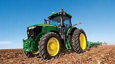 "John Deere Farm Tractor- 42"" x 24"" LARGE WALL POSTER PRINT NEW."