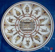 Wedgwood Large Collectors Plate SHAKESPEARE CHARACTERS - ALL THE WORLDS A STAGE