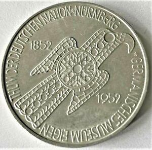 5 Mark Silbergedenkmünze 1952 an Germanisches Museum Nürnberg (S)