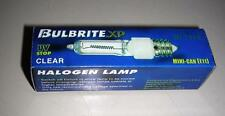 Bulbrite XP JD Type Halogen Lamp Q500CL/MC Clear Mini –Can E11
