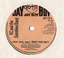 "K C & The Sunshine Band - Shake Your Booty / I'm A Pushover 7"" Single 1976"