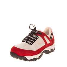 RRP€710 MAISON MARGIELA Leather Sneakers EU 43 UK 9 US 10 Vibram Made in Italy