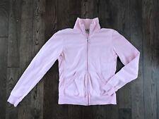 Vintage Juicy Couture zipup cotton PINK Jacket sz M, EUC