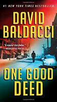 One Good Deed (An Archer Novel) by David Baldacci Book The Fast Free Shipping