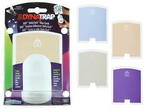 DynaTrap Dot StickyTech Replacement Glue Cards Decorative Colors 6 Cards in Pack