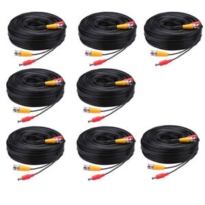 5M/10M/30M -YH82 Security Camera CCTV Video Power Cable Wire BNC RCA Cord DVR
