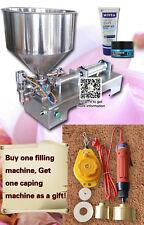 1 year warranty,2500ml chili sauce tomato puree paste filling machine,110V/220V