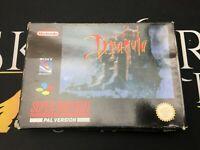 Bram Stoker's Dracula - Super Nintendo Entertainment System (TESTED) UKV PAL