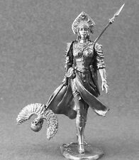 Wizard Girl Warrior Toy Soldiers Woman 75mm Metal Figure 1/24 scale
