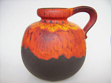 Keramik Vase Scheurich 484-21 Fat Lava Pop Art West-Germany pottery WGP vintage